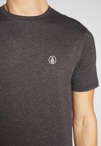 Volcom - CIRCLE BLANKS HTH SS - Basic T-shirt - anthracite - 4