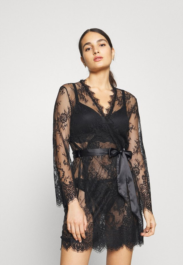 SARIA ROBE - Peignoir - black