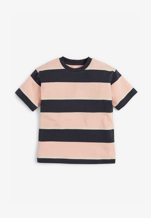 Triko spotiskem - black/light pink