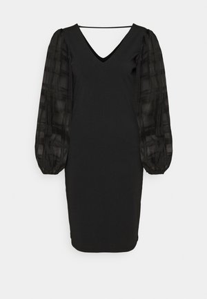 LCMEERA DRESS - Cocktail dress / Party dress - pitch black