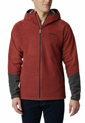 Tough Hiker™ II Hooded Fleece - Fleecejas - flame, shark