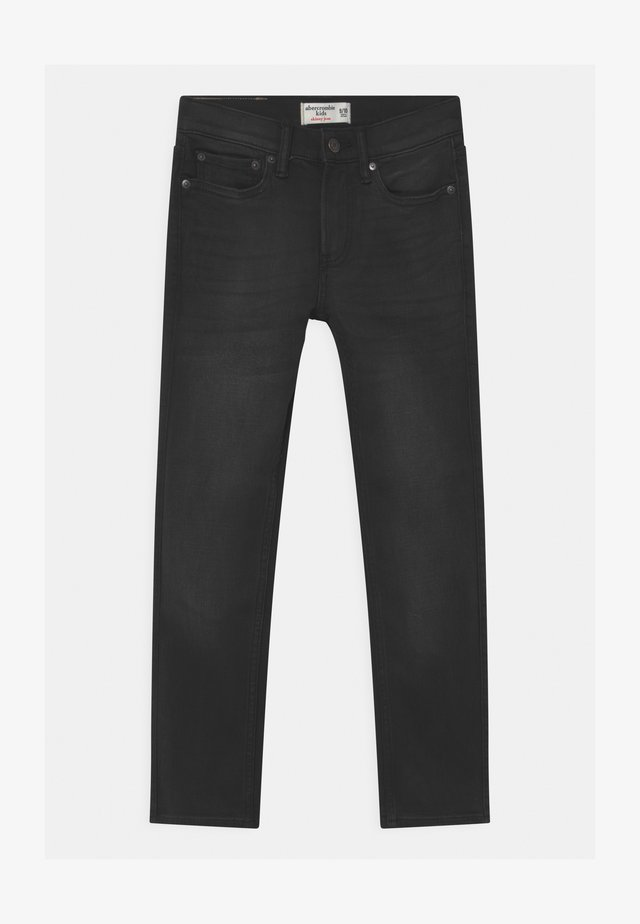 SKINNY WASHED  - Jeans a sigaretta - black denim