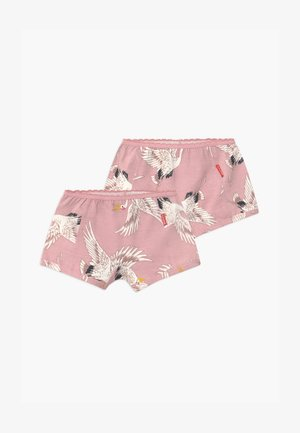 GIRLS 2 PACK - Pants - pink/off-white