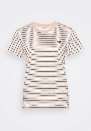 PERFECT TEE - Triko s potiskem - moonstone toasted almond