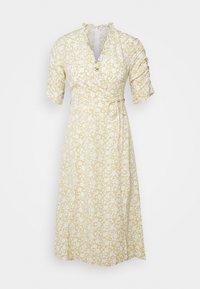 Glamorous Petite - DITSY MIDI WRAP DRESS PETITE - Denní šaty - beige - 0