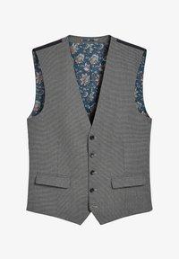 Next - TEXTURED - Suit waistcoat - grey - 4