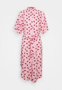 Monki - Vestido camisero - pink - 4