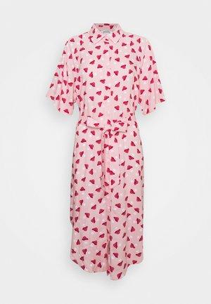 Vestido camisero - pink