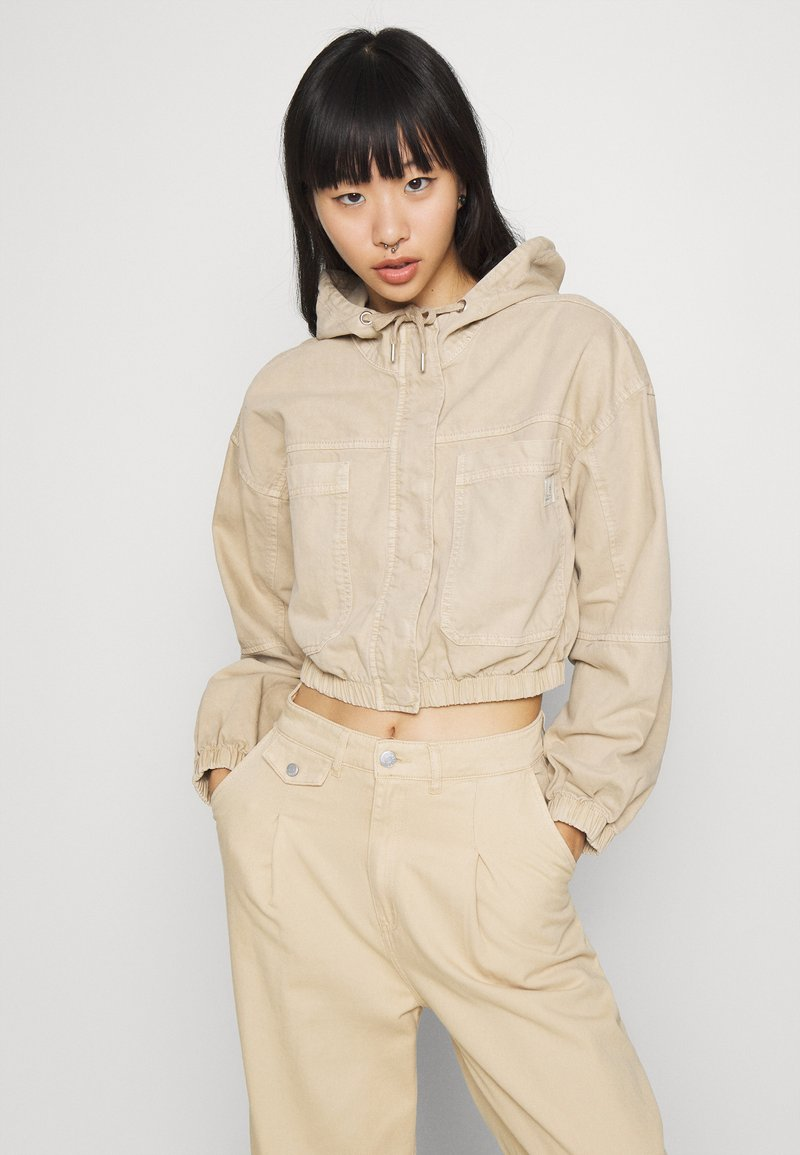 BDG Urban Outfitters - JARED UTILITY JACKET - Denim jacket - beige