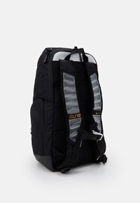 Nike Performance - HOOPS ELITE PRO BACK PACK - Rucksack - black/white/metallic gold - 1