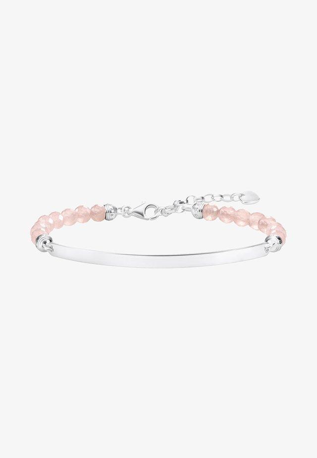 Bracelet - silver-coloured/pink