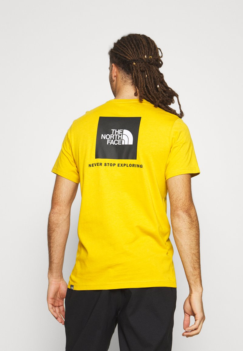 The North Face - MEN´S TEE - Triko spotiskem - arrowwood yellow