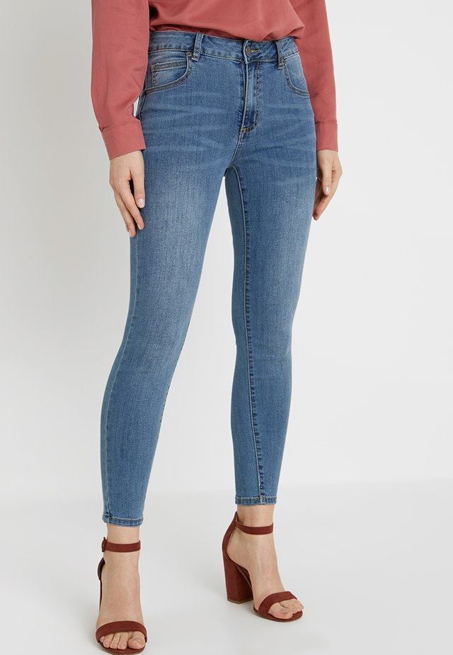 MID RISE GRAZER  - Jeansy Skinny Fit - core blue