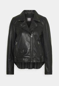 RIANI - Leather jacket - black - 4