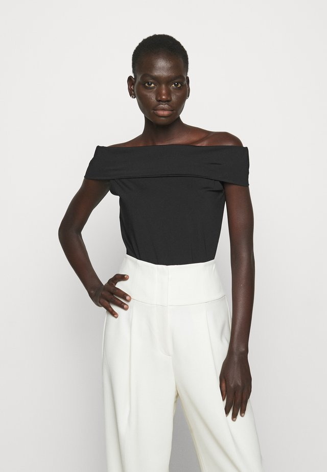 SABRYNNA DIVISION  - T-shirts med print - black