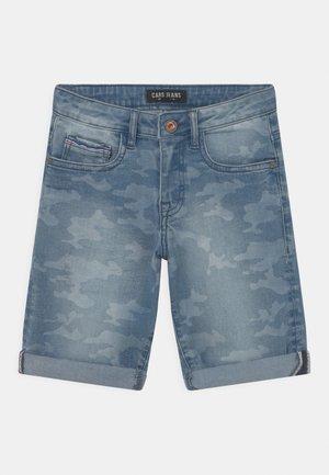 REGGIE DEN  - Szorty jeansowe - blue denim