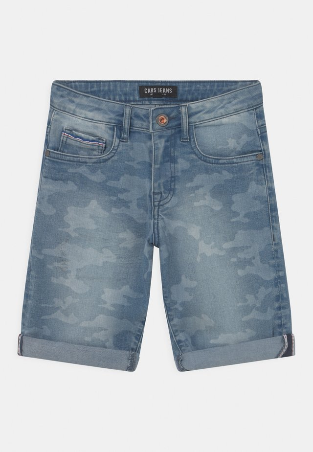 REGGIE DEN  - Shorts di jeans - blue denim
