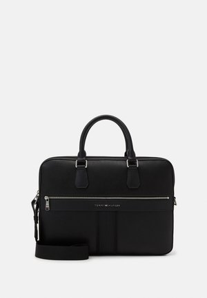 DOWNTOWN SLIM COMPUTER BAG UNISEX - Aktówka - black