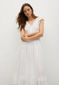 Mango - Day dress - złamana biel - 2