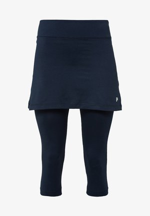 SKORT SINA 2-IN-1 - Tights - peacot blue