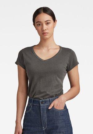 EYBEN  SLIM - T-shirt basic - raven
