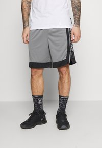 Nike Performance - NBA BROOKLYN NETS SWINGMAN SHORT - Sports shorts - dark steel grey/black/white - 0
