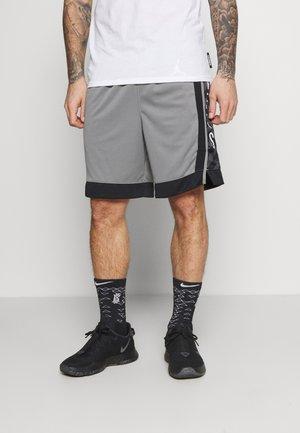 NBA BROOKLYN NETS SWINGMAN SHORT - Pantaloncini sportivi - dark steel grey/black/white