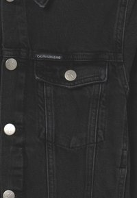Calvin Klein Jeans - TRUCKER UNISEX - Jeansjacke - black denim - 2