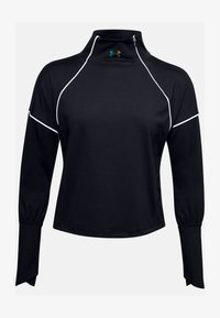 Under Armour - RUSH - Sports shirt - black - 3