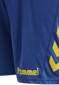 Hummel - DUO SET - Sports shorts - sports yellow/true blue - 6