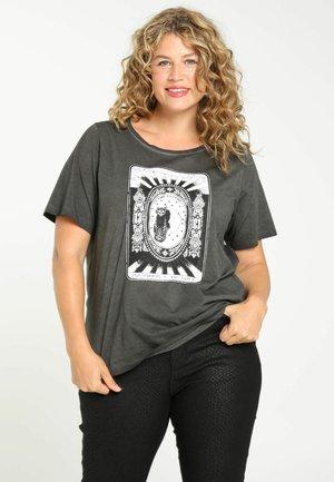 TAROT - Print T-shirt - black