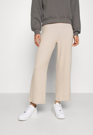 ALICIA CULOTTE TROUSERS - Tygbyxor - oxford tan