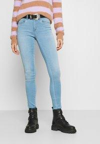 ONLY - ONLROYAL LIFE - Jeansy Skinny Fit - light blue denim - 0