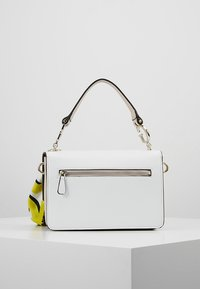 Guess - ANALISE CROSSBODY FLAP - Handbag - white - 2