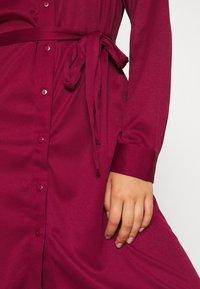 Even&Odd - Košilové šaty - dark red - 5