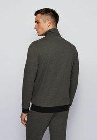 BOSS - AUTHENTIC - veste en sweat zippée - dark grey - 2