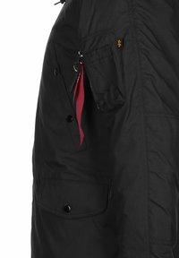 Alpha Industries - EXPLORER W/O PATCHES - Winter jacket - black - 2