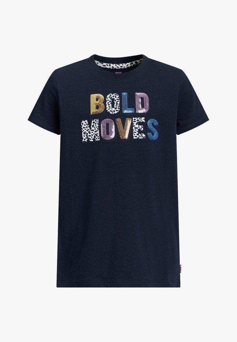 WE Fashion - T-shirt print - dark blue