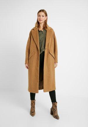 EFFIE BRUSHED COAT - Zimní kabát - camel
