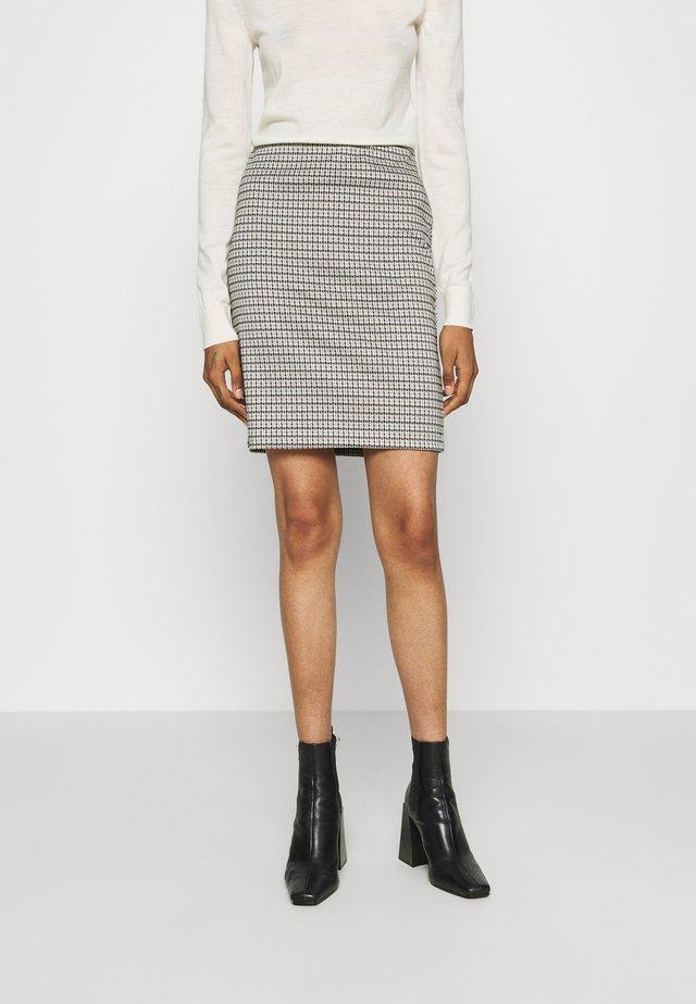 RYDRA SKIRT - Minifalda - beige
