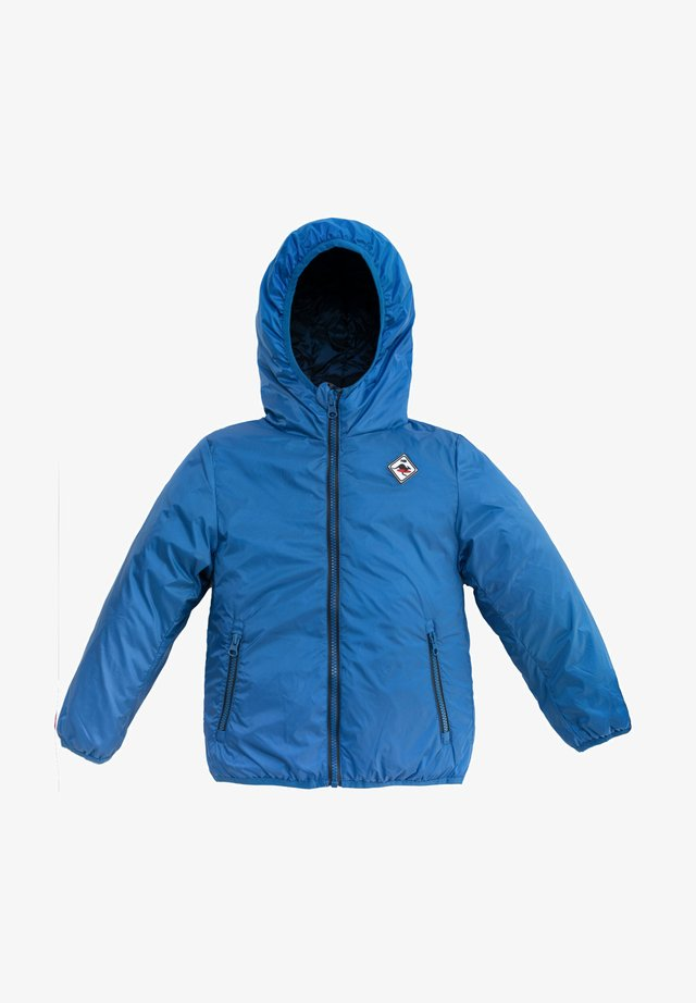 REVERSIBLE HOODED - Giacca invernale - royal