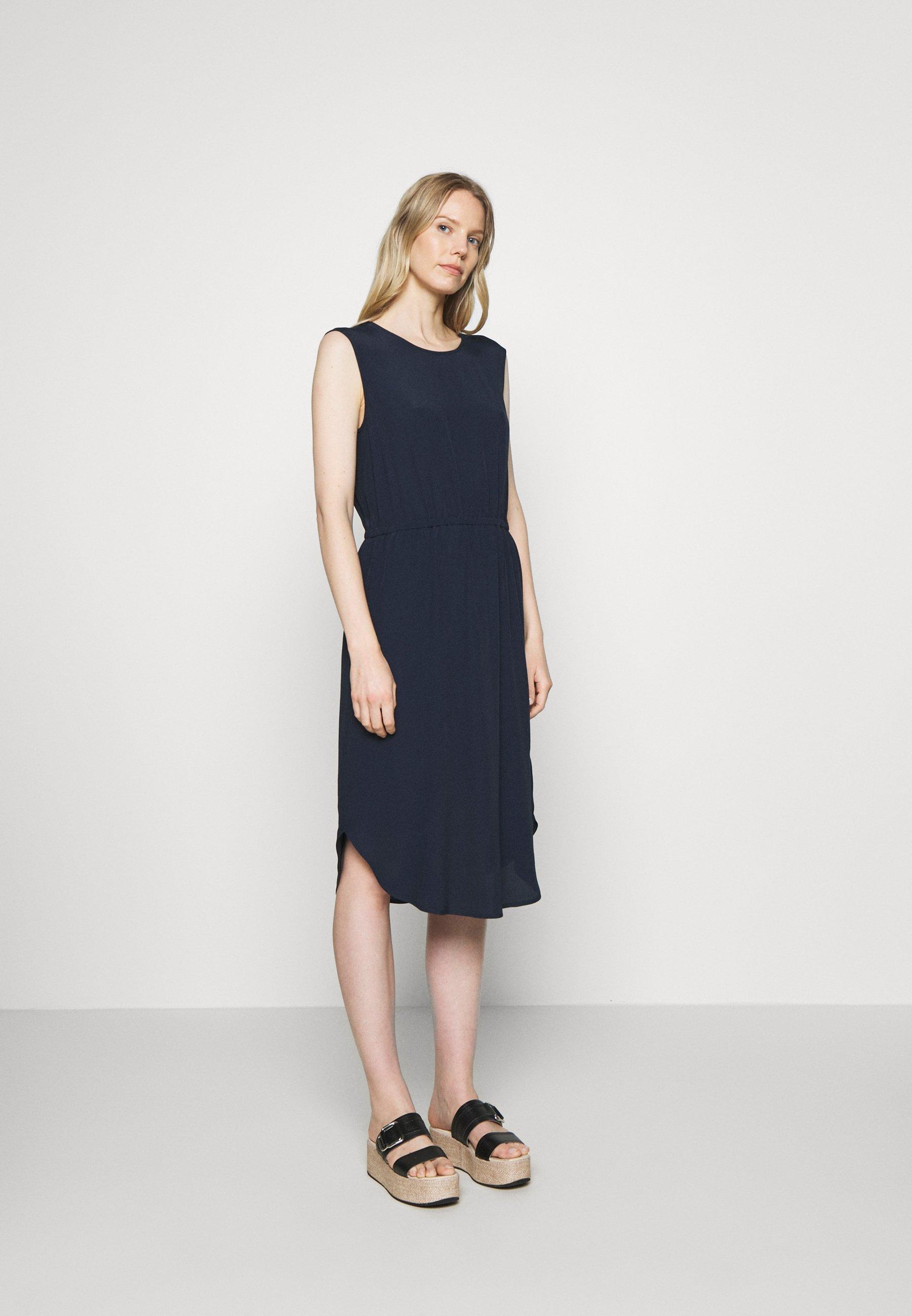 Official Women's Clothing Marc O'Polo DENIM DRESS STRAP DETAIL AT BACK Day dress scandinavian blue uq9v1NCrr