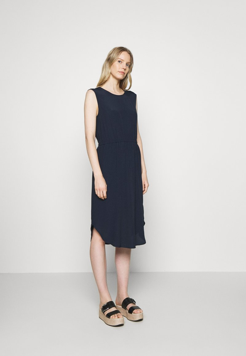 Marc O'Polo DENIM - DRESS STRAP DETAIL AT BACK - Day dress - scandinavian blue