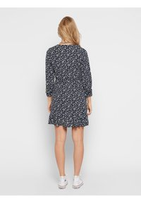 ONLY - ONLCARLY WRAP SHORT DRESS - Day dress - night sky - 2