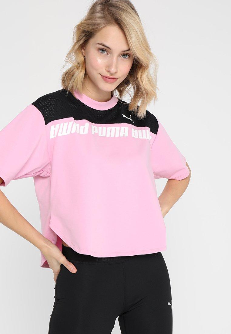 Puma - MODERN SPORTS TEE - Print T-shirt - pale pink