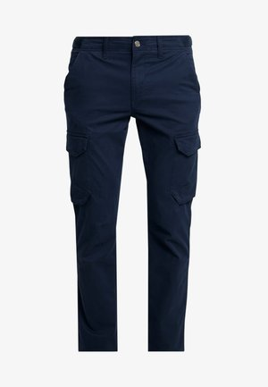 SQUAM LAKE STRETCH - Cargo trousers - dark sapphire