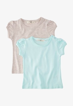 2 PACK - T-shirt basic - turquoise