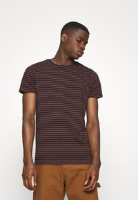 Scotch & Soda - EASY CREWNECK TEE - Print T-shirt - combo - 0