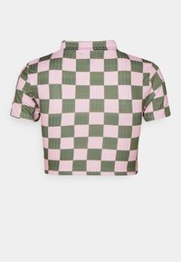 NEW girl ORDER - CHECKERBOARD - Print T-shirt - pink - 1