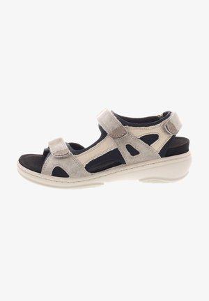 GINI - Walking sandals - fango